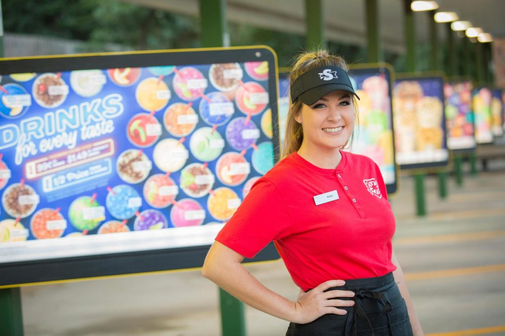 Job opportunities at Sonic Drive In restaurants in Washington and Oregon