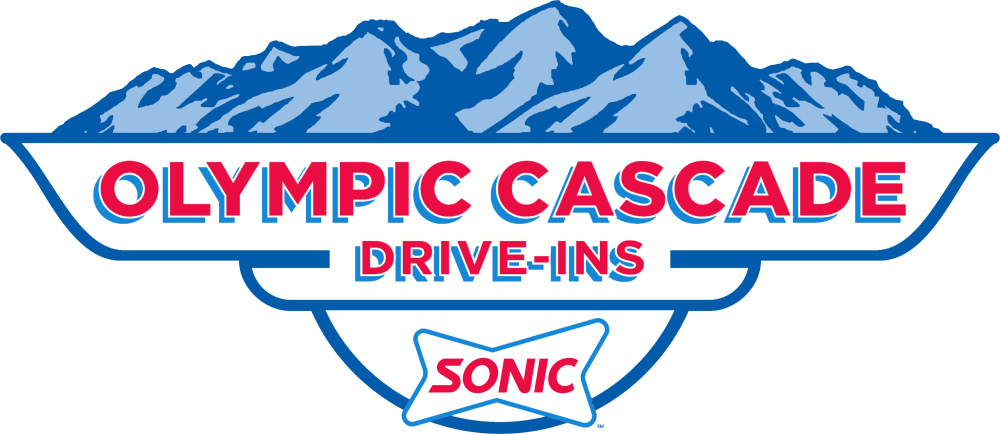 Sonic Drive-In Logo for Olympic CascadeDrive-Ins of Washington and Oregon