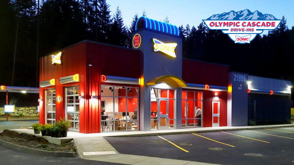 Sonic Drive In fast food restaurant in Pasco, Washington serving the Tri-Cities, Kennewick, Richland, and Prosser, Walla Walla Benton County