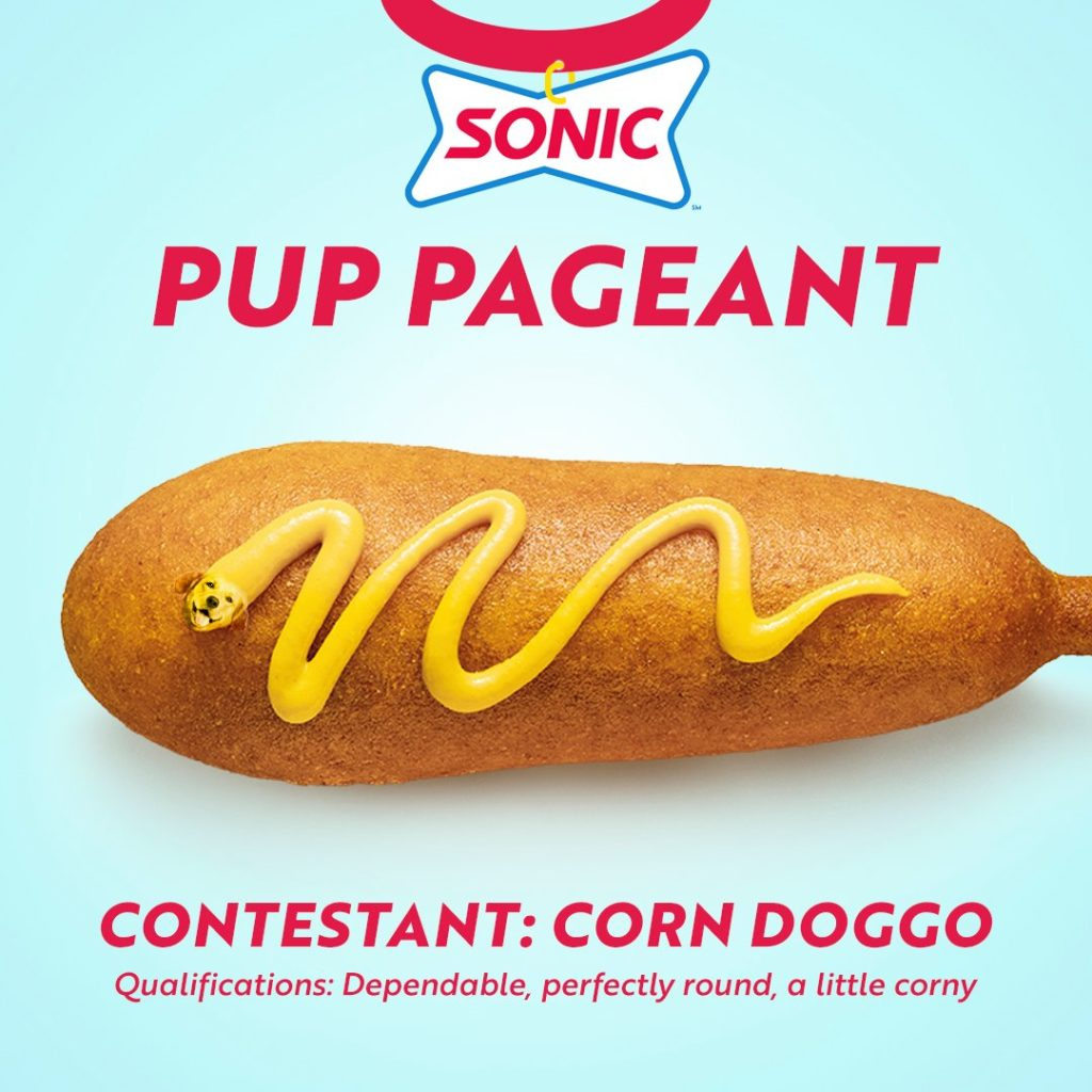Sonic Drive In Pup Pageant hot dog extravaganza