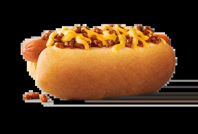 Sonic Chili Cheese Coney hot Dog