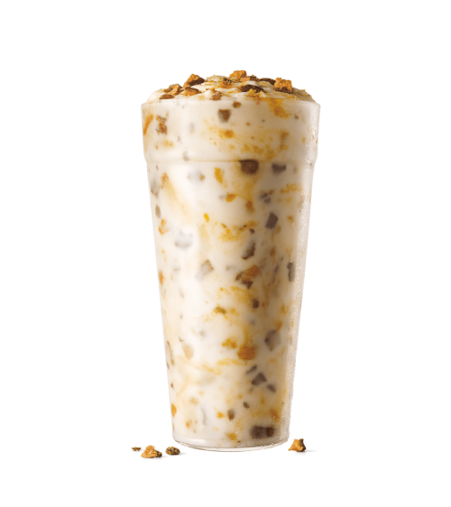Sonic Drive In Butterfinger Blast with Real Ice Cream