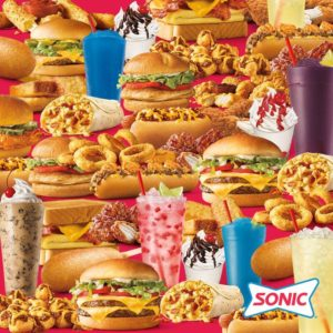 Find the Sonic chicken slinger