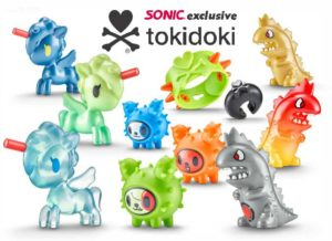 Sonic Drive in drive through fast food restaurant Tri-Cities WA Pasco Washington Kids Wacky Pack tokidoki