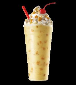 Sonic Drive-In Banana Pudding Shake - Ice Cream Treats
