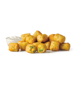 broccoli cheddar tots at Sonic drive in